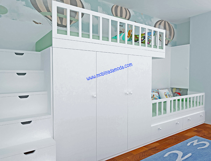 Modern nursery/kids room by MOBİLYADA MODA Modern Wood Wood effect