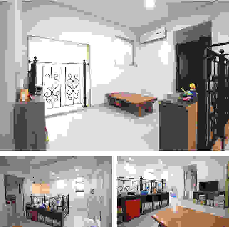 Ruang Studi/Kantor Modern Oleh 지성하우징 Modern