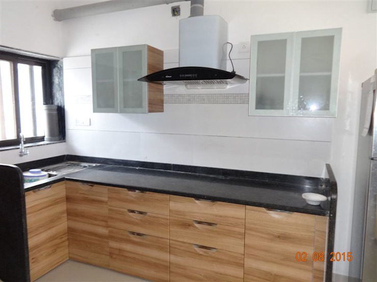 Classic style kitchen by aashita modular kitchen Classic MDF