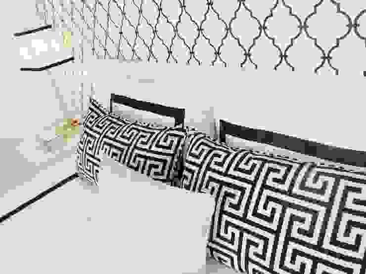 Black&White Quartos modernos por Espaços Únicos - EU InteriorDecor Moderno