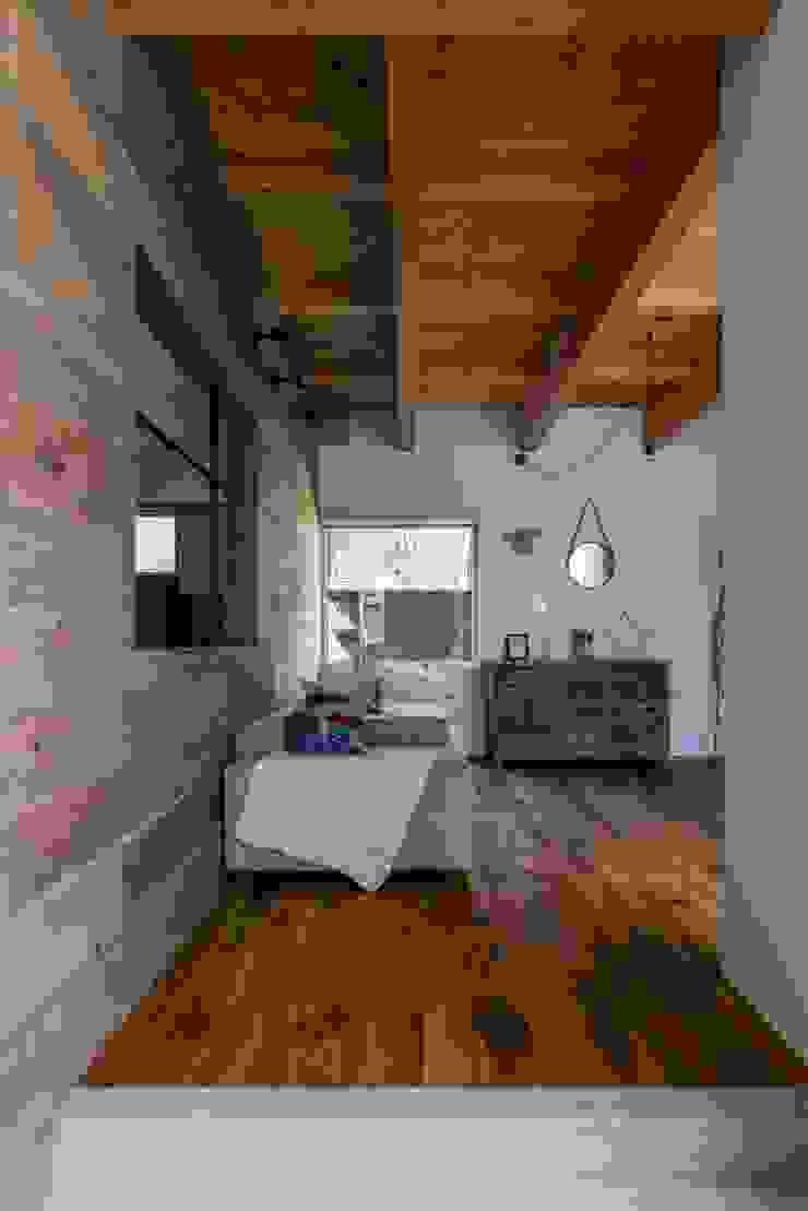 ALTS DESIGN OFFICE Salones rústicos de estilo rústico Madera Acabado en madera