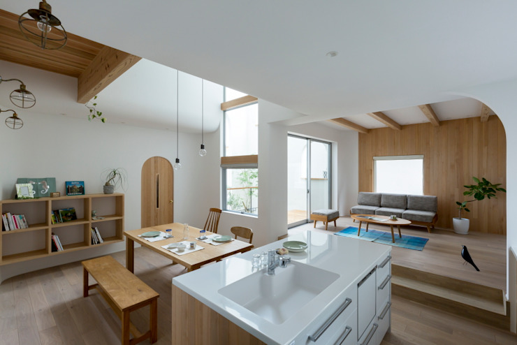 Kitchen by ALTS DESIGN OFFICE, Scandinavian Wood Wood effect