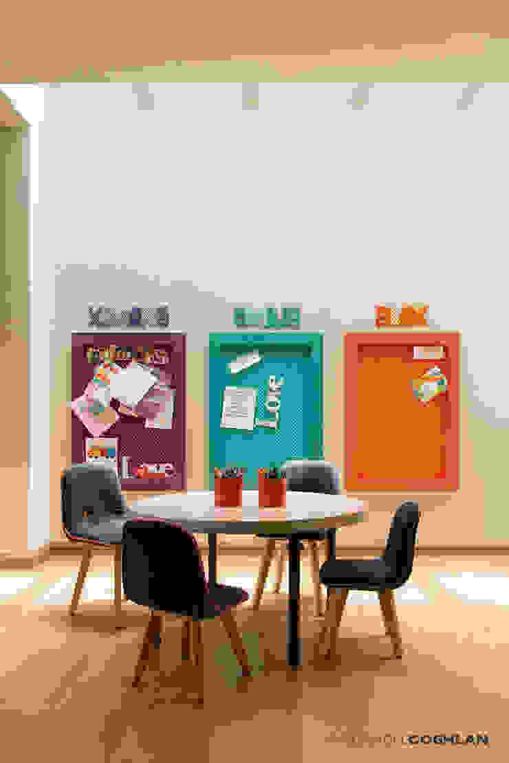 Estudio Oficinas de estilo moderno de MARIANGEL COGHLAN Moderno