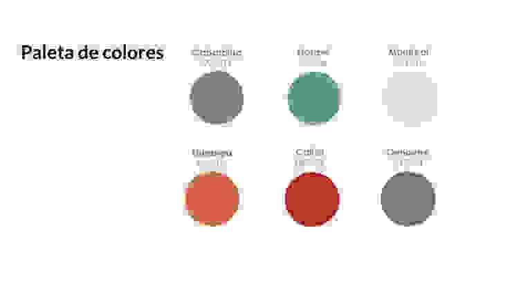 Paleta de colores de MARIANGEL COGHLAN Moderno