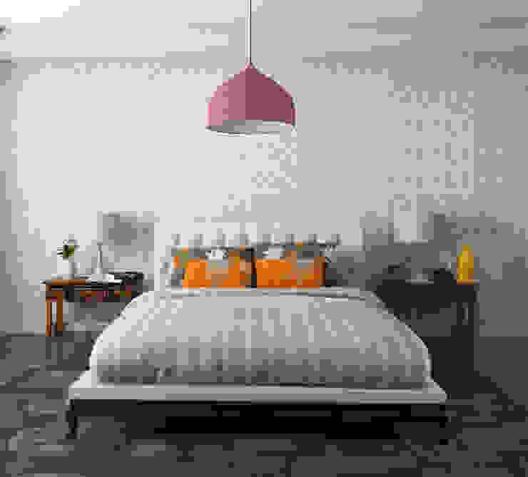 Minimalist bedroom by MAGEN | Revestimentos Cimentícios Minimalist Concrete