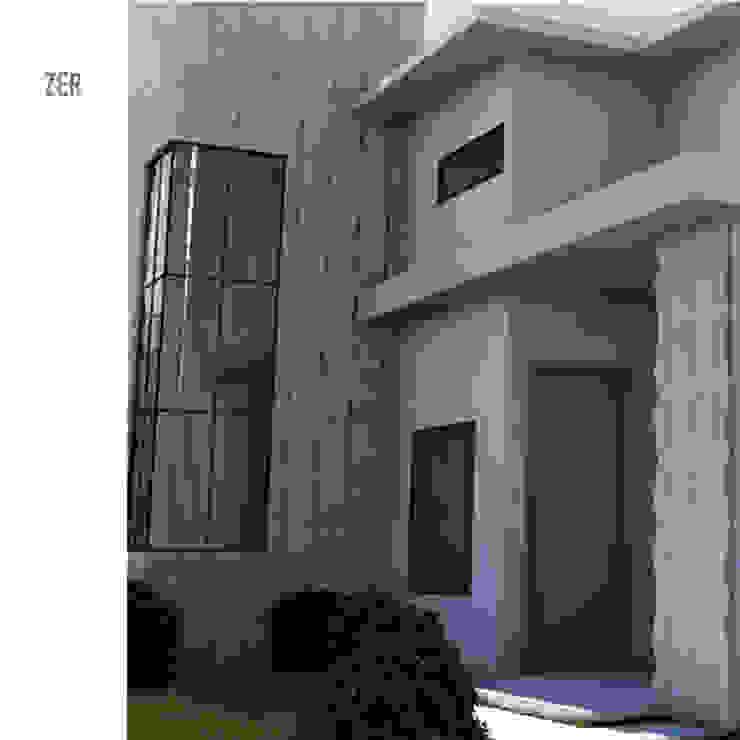Minimalist houses by MAGEN | Revestimentos Cimentícios Minimalist Concrete