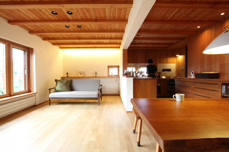 藤松建築設計室 ВітальняДивани та крісла
