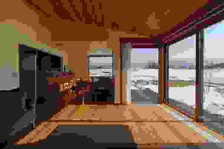 ダイニング: 藤松建築設計室が手掛けたスカンジナビアです。,北欧