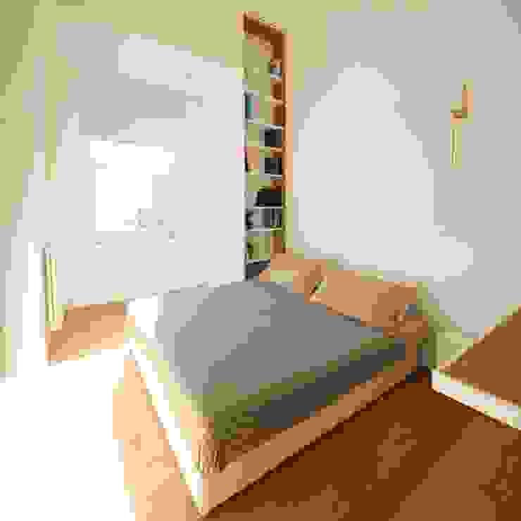 غرفة نوم تنفيذ studioSAL_14 , تبسيطي