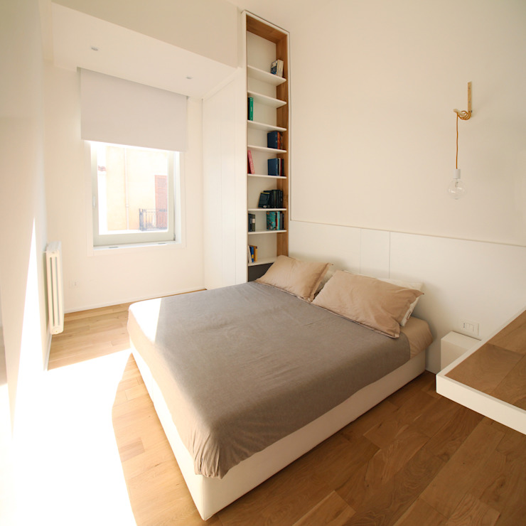 Minimalist bedroom by studioSAL_14 Minimalist