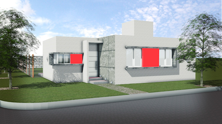 T.F | ARQuitectura y DIseño Modern houses