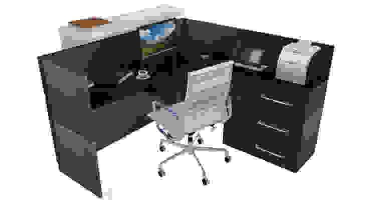 Oficina de recepcion, clinica privada de T.F | ARQuitectura y DIseño Moderno