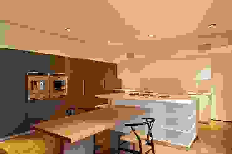 Casa X Cocinas modernas de Agraz Arquitectos S.C. Moderno