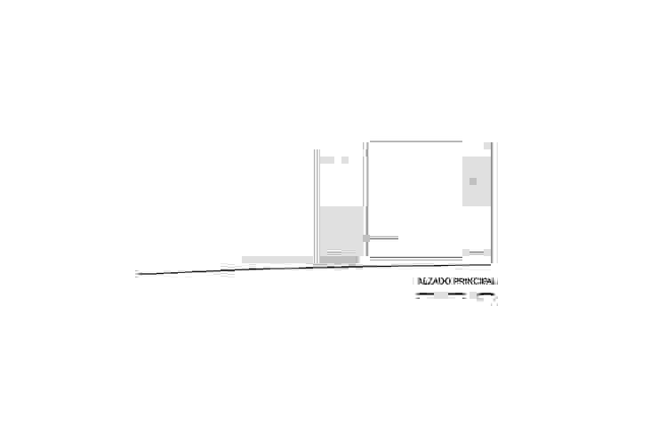 Casa X de Agraz Arquitectos S.C. Moderno