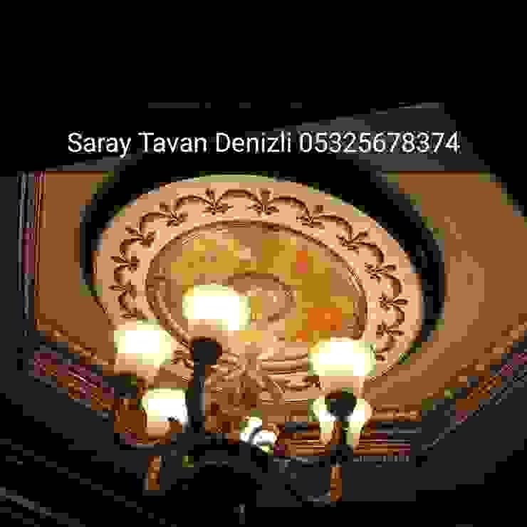 plastik tavan dekor SARAY TAVAN DENİZLİ 05325678374 Klasik Ahşap-Plastik Kompozit