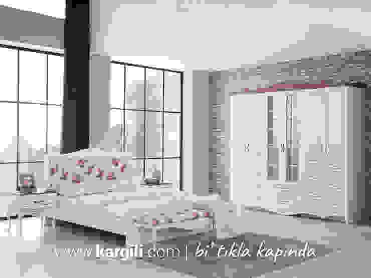 Safir Yatak Odası Takımı Kargılı Ev Mobilyaları Kırsal/Country