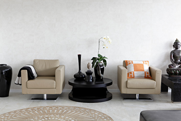Modern living room by LABOR WELTENBAU ARCHITEKTUR Modern