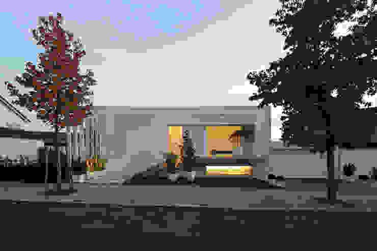 Projekty,  Domy zaprojektowane przez LABOR WELTENBAU ARCHITEKTUR , Nowoczesny
