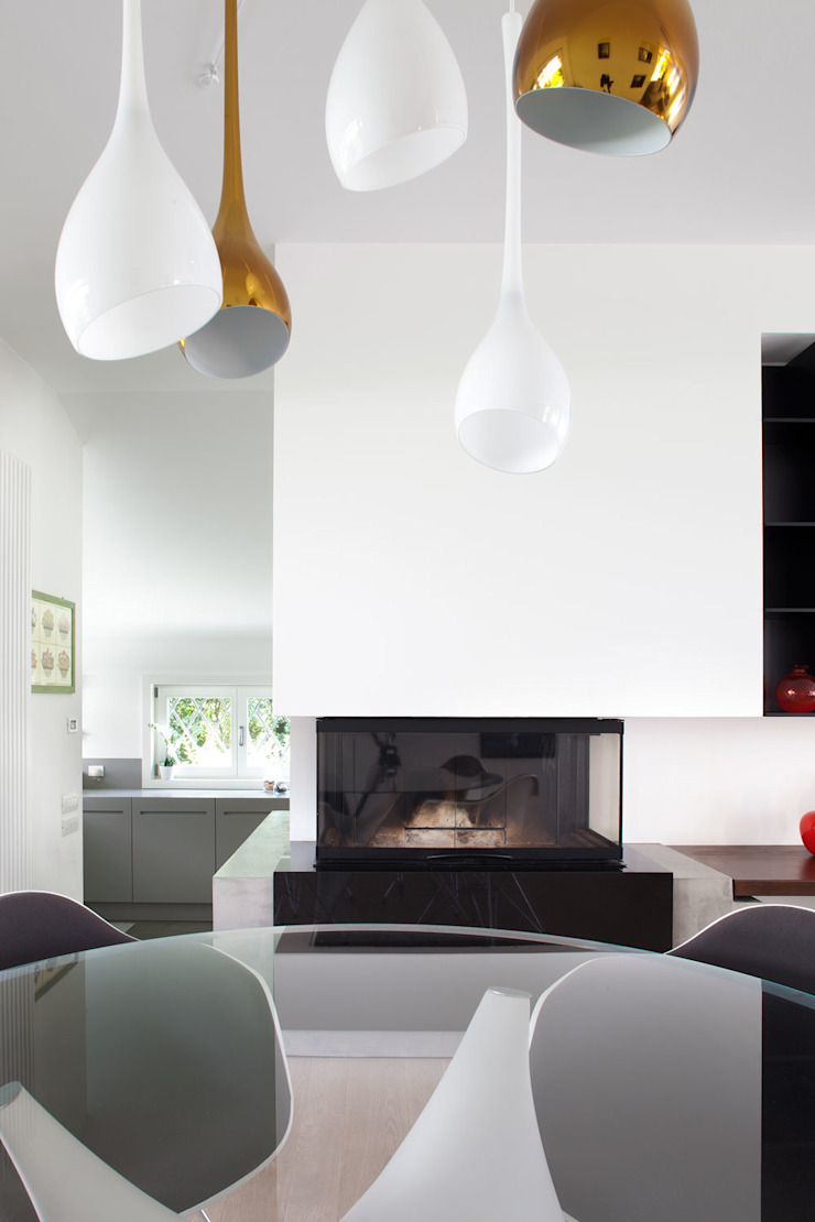 Minimalistische Wohnzimmer von EXiT architetti associati Minimalistisch