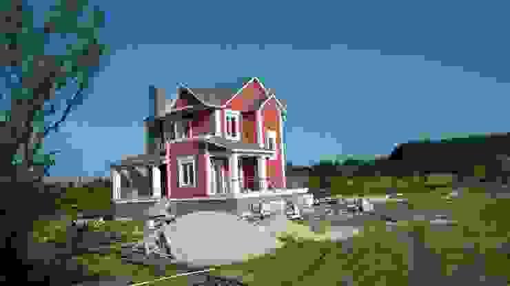 EGEUMUT ÇELİK YAPI – GALVANİZ ÇELİK EV:  tarz Evler, Modern