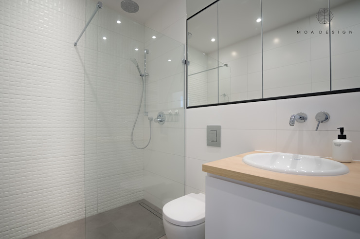 MOA design Scandinavian style bathroom