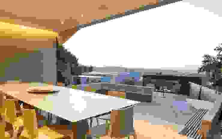 Garden by Nico Van Der Meulen Architects , Modern