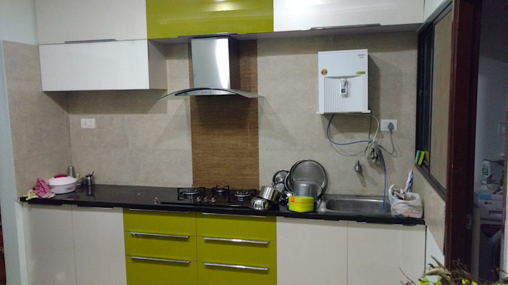 Modular kitchen in baroda Modern kitchen by aashita modular kitchen Modern
