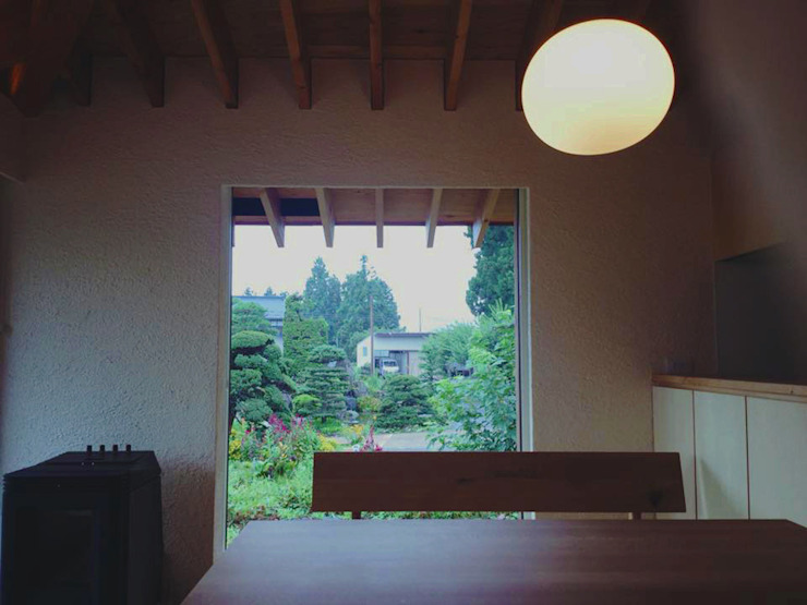 Dining room by アーキテクチュアランドスケープ一級建築士事務所, Modern