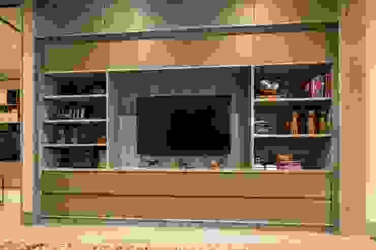PC Fase 2 Piso 5 Salas multimedia modernas de Línea Vertical Moderno