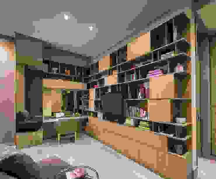 PC Fase 2 Piso 5 Dormitorios modernos de Línea Vertical Moderno