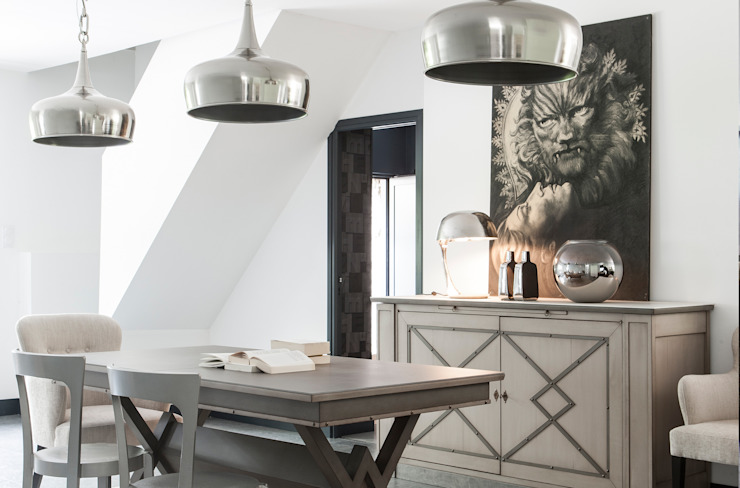 Grange México Dining roomTables Solid Wood Grey
