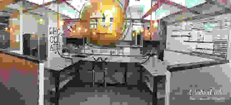 Gastronomia in stile industrial di Cristina Cortés Diseño y Decoración Industrial
