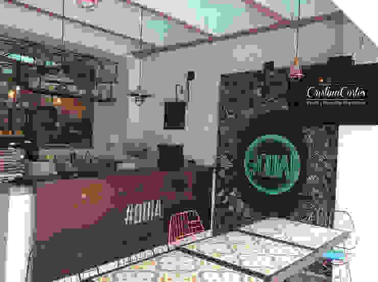 Cristina Cortés Diseño y Decoración Industrial style gastronomy