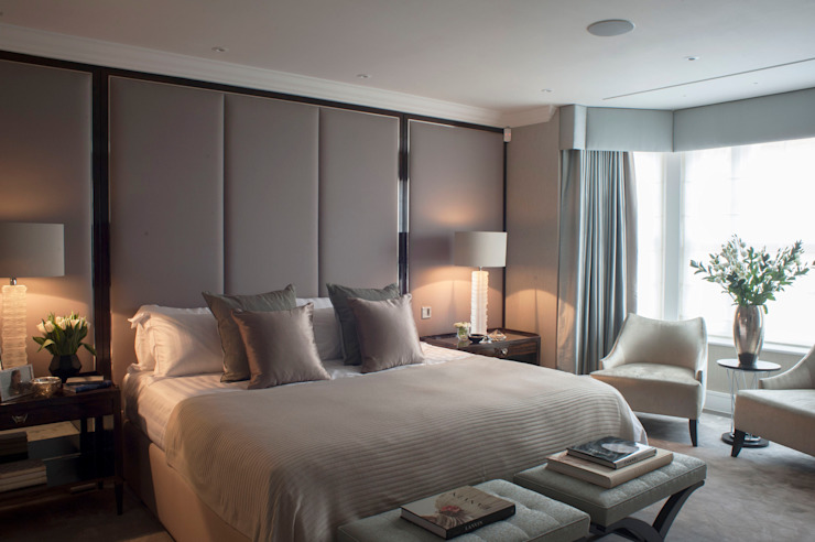 Chelsea Townhouse Classic style bedroom by nu:builds Classic