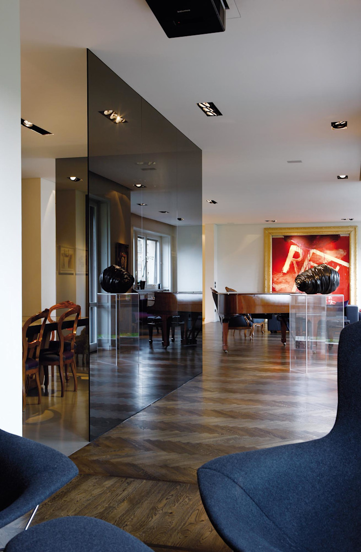 Salon moderne par Studio Fabio Fantolino Moderne