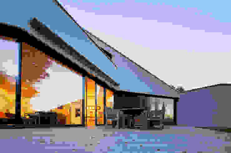Balcon, Veranda & Terrasse modernes par WSM ARCHITEKTEN Moderne