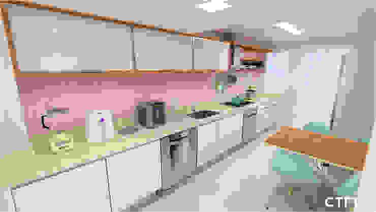 Cozinha Candy Colors CTRL   arquitetura e design Cozinhas modernas
