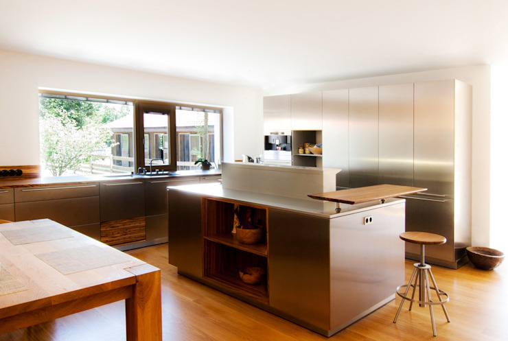 Dapur oleh WSM ARCHITEKTEN, Country