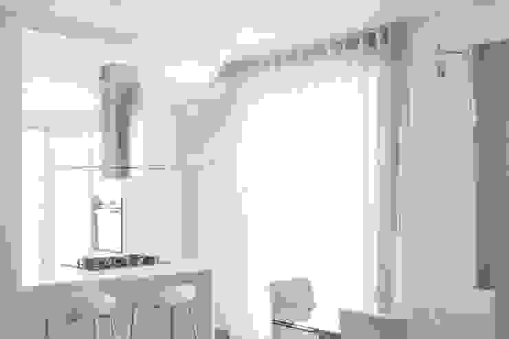 Abitazione privata Cucina moderna di Paolo Foglini Design Moderno Legno Effetto legno