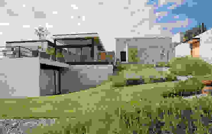 Modern balcony, veranda & terrace by Estudio Manuel Peredo Modern
