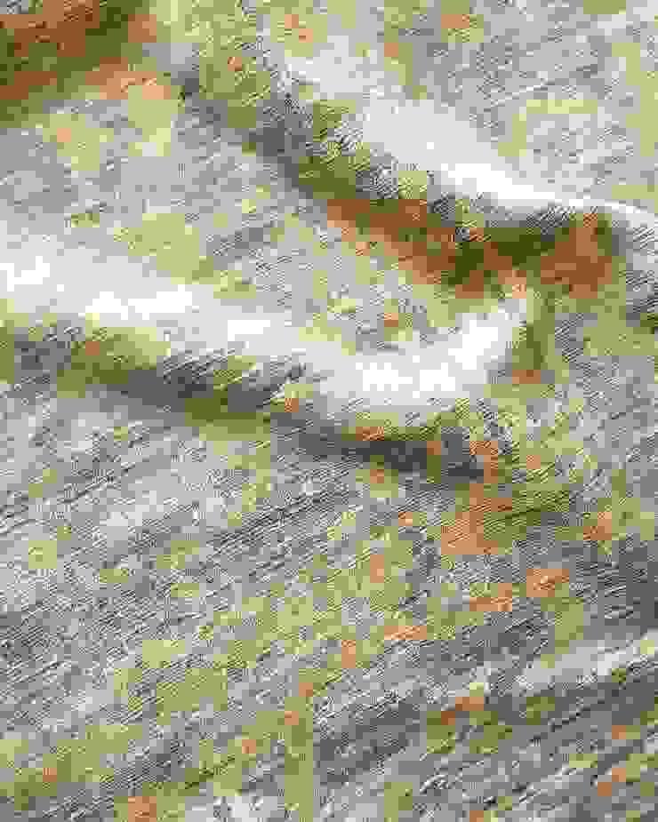 MIRAGE RUG de FLAM RUGS Moderno Textil Ámbar/Dorado