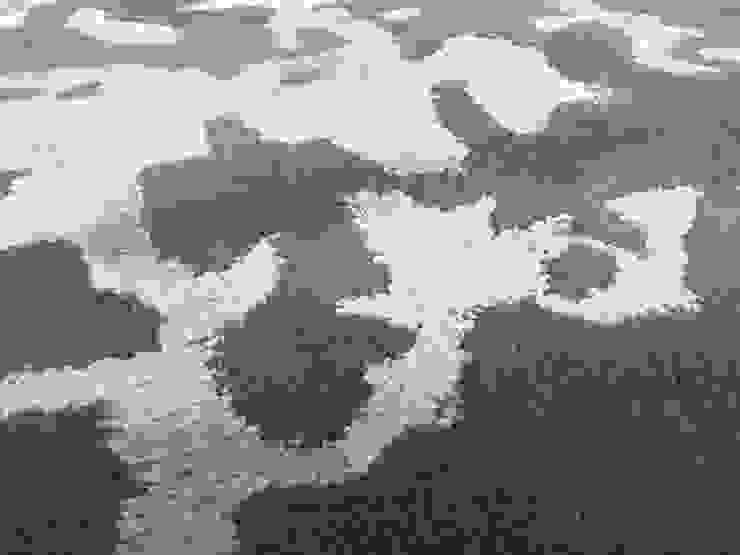 ERICK RUG de FLAM RUGS Moderno Textil Ámbar/Dorado