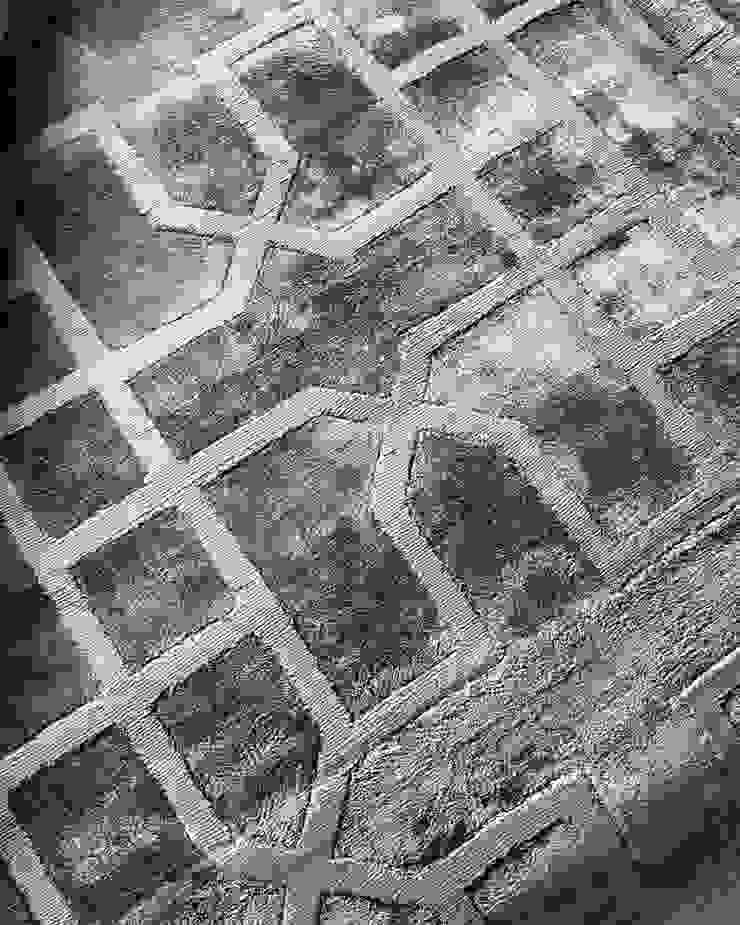 YAKARTA RUG de FLAM RUGS Moderno Textil Ámbar/Dorado