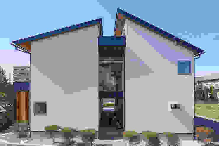 駒形の家 オリジナルな 家 の ATELIER N オリジナル