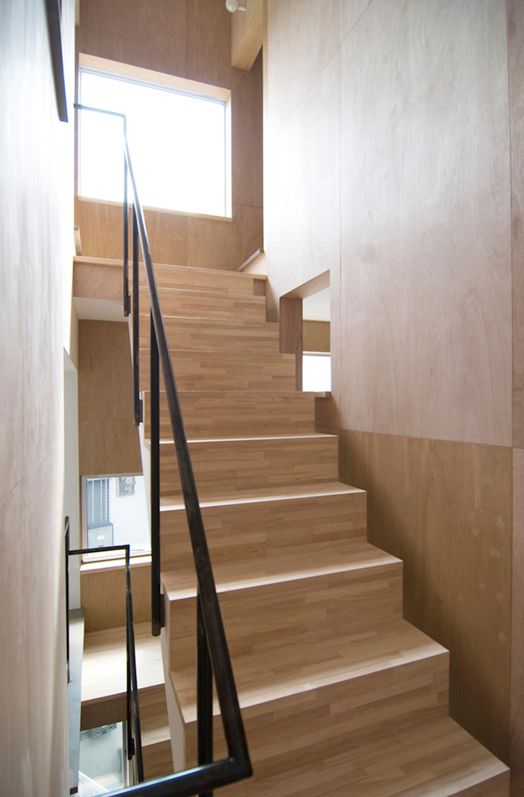 星設計室 Modern Corridor, Hallway and Staircase