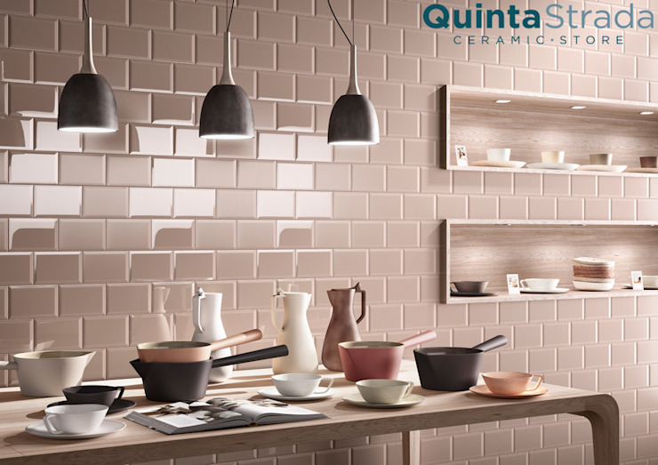 Bicottura diamantata Quinta Strada - Ceramic Store Cucina moderna