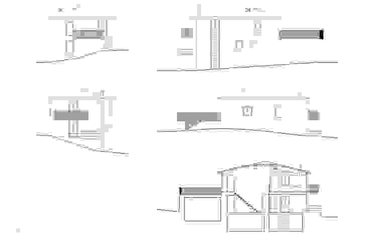 Casas campestres por b+t arquitectos Campestre