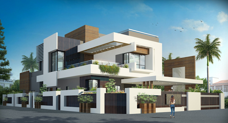 INDEPENDENT VILLA Classic style houses by anss crafters Classic