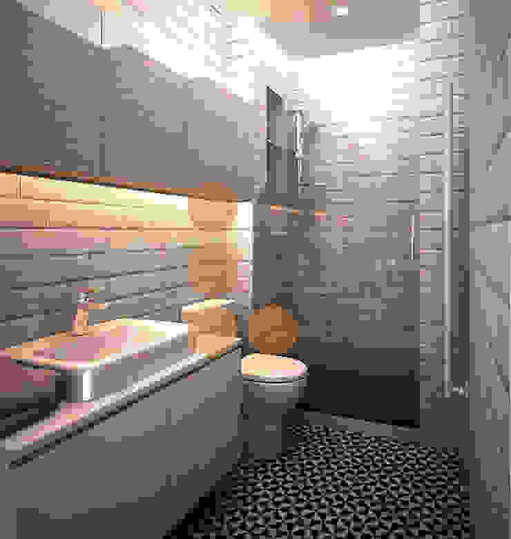 Renders. 3D. Baño. Bathroom de Brick Serveis d'Interiorisme S.L.