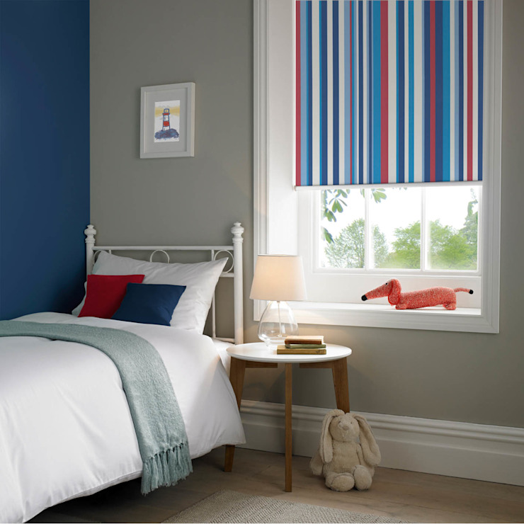 Roller Blinds with ULTRA control Appeal Home Shading ห้องนอนสิ่งทอ